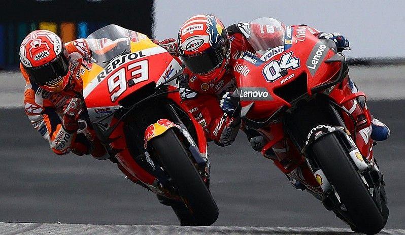 Italiano assumiu a ponta na última curva e reduziu a diferença para o espanhol, que lidera o campeonato